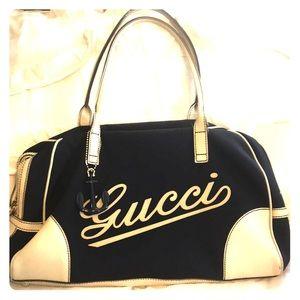 Rare Gucci Anchor charm tote/bag